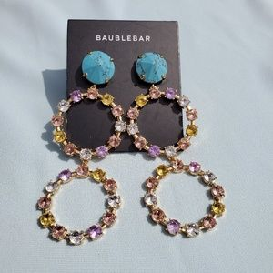 Baublebar jeweled earrings!